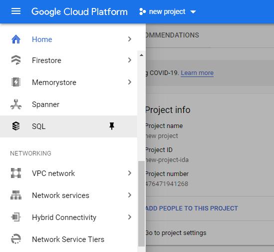 Cloud SQL tutorial