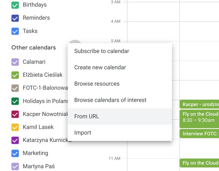 asana i kalendarz google
