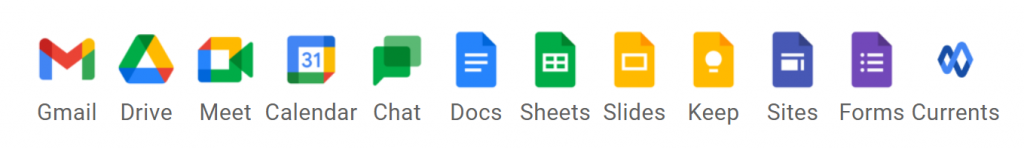 google workspace aplikacje