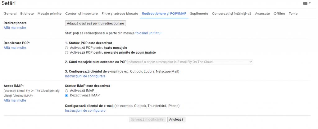 gmail on thunderbird 3